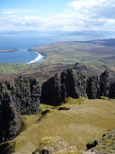 The Table - Quiraing - Isle of Skye, Scotland Scotland Uk, England And Scotland, Scotland Travel, Outlander, Places To Travel, Places To See, Scottish Castles, British Isles, British Seaside