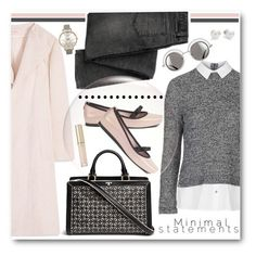 Casual Pink & Grey by brendariley-1 on Polyvore featuring polyvore, fashion, style, Topshop, Tory Burch, Melissa, Olivia Burton, Mikimoto, By Terry, Chanel, women's clothing, women's fashion, women, female, woman, misses and juniors