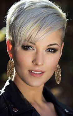 Kurze Haare - Human Hair Capless Wigs Human Hair Straight Pixie Cut Side Part Short Machine Ma. Short Pixie Haircuts, Short Hairstyles For Women, Short Hair Cuts, Straight Hairstyles, Layered Hairstyles, Hairstyles 2018, Formal Hairstyles, Shag Hairstyles, Edgy Pixie Hairstyles