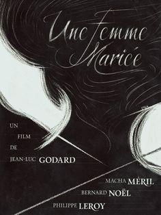 Une Femme Mariée / A Married Woman 1964 Godard #AlternativeFilmPoster by Juan Villanueva