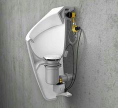 Innovación para baños públicos #baños #diseño #tecnologia #bathroom #ideas #design
