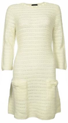 Sutton Studio Women's Crochet Sweater Dress - List price: $198.00 Price: $79.99 Saving: $118.01 (60%)