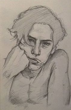 65 Ideas cool art drawings sketches for 2019 Pencil Art Drawings, Cool Art Drawings, Art Drawings Sketches, Drawing Faces, Easy Drawings, Sketch Drawing, Sketching, Photo To Drawing, Sketches Of Boys