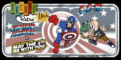 TechnoRetro Dads: Captain America and Marvelous May  