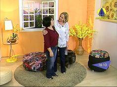 Santa Receita | Puff de Pneus por Roseli dos Santos - 30 de Outubro de 2014