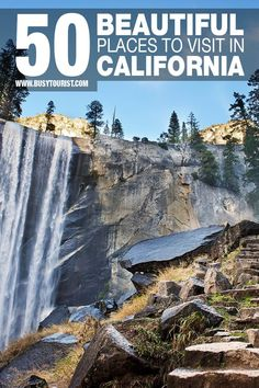 Going on a road trip around California? This travel guide will show you the best tourist attractions and the most beautiful places to visit in California. Start planning your itinerary and bucket list now! #california #californiatravel #california #californiatravel #beautifuldestinations #beautifulplaces #beautifulplacesintheworld #beautifulplacestotravel #placestovisit #placestotravel #placestogo #usatravel #usatrip #travelusa #ustravel #ustraveldestinations #americatravel California Places To Visit, Beautiful Places In California, Beautiful Places To Travel, California Travel, Cool Places To Visit, Us Travel Destinations, California Destinations, Travel Usa, Fun Travel