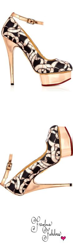 Frivolous Fabulous - Charlotte Olympia 2013 | shoes 1