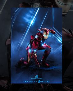 "Iron Man ""Superhero Landing"" By Me ( Marvel Comics, Arte Dc Comics, Marvel Heroes, Marvel Characters, Marvel Avengers, Iron Man Wallpaper, Marvel Wallpaper, Iron Man Art, Iron Man Avengers"