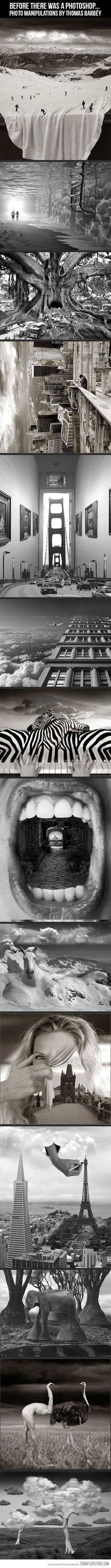 Photo manipulations by Thomas Barbey