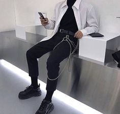 [New] The 10 Best Outfit Ideas Today (with Pictures) - Fashion Mode, Aesthetic Fashion, Aesthetic Clothes, Look Fashion, Korean Fashion, Mens Fashion, Urban Aesthetic, Ulzzang Fashion, Street Fashion