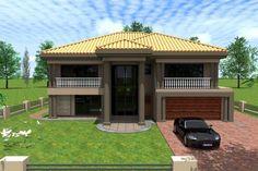 2 Bedroom House Plans, House Floor Plans, Beautiful House Plans, Beautiful Homes, Double Storey House Plans, 2 Storey House Design, Architectural House Plans, My Dream Home, Dream Homes