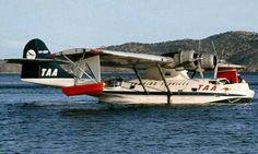 TAA Trans Australia Airlines PBY Catalina VH-SBV