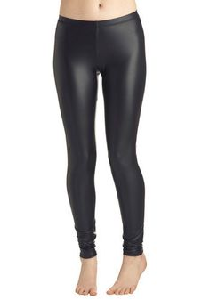 ModCloth Statement Skinny Highlight of Your Chic Leggings