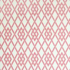 Pink color Diamond and Geometric and Contemporary and Asian pattern Made in USA and Prints and Linen type Upholstery Fabric called Blossom by KOVI Fabrics Pink Patterns, Fabric Patterns, Pink Green Bedrooms, Patterning Kindergarten, Thai Pattern, Greenhouse Fabrics, Geometric Fabric, Pink Fabric, Pattern Mixing