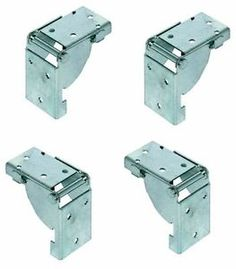 Lock In Lock Out Folding Table Leg Bracket For 38mm