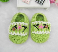 Good Quality Green Handmade Crocheted Baby Girls by crochet4you8, $9.00