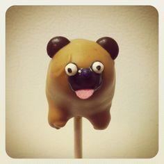 Cute Brown Pug Pop      - Full Dog Body By vyp Db