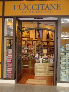 L'Occitane En Provence. My most favorite fragrance store in the whole world. For all you Salt Lake City folks there is a store at City Creek Center. You'll love it.