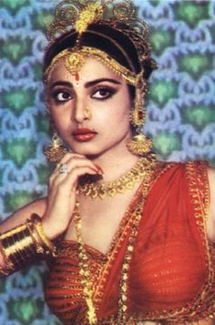 Rekha - my favorite hindi film star.
