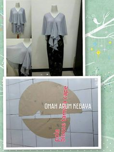 Ideas For Crochet Skirt Tutorial Style Sewing Hacks, Sewing Tutorials, Sewing Projects, Techniques Couture, Sewing Techniques, Pattern Cutting, Pattern Making, Hijabs, Dress Patterns