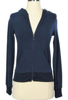 Basically Awesome Navy Hoodie