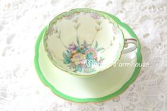 Vintage, Rare, Noritake, Handpainted Tea Cup and Saucer, Tea Party, Replacement China, Gifts for Her