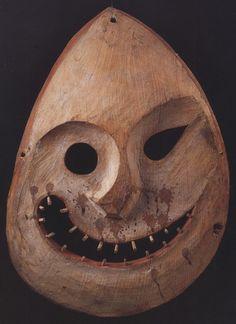 Inuit Mask, Alaska, ca. 1880.