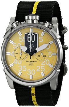 CT Scuderia Men's CS10113 Analog Display Swiss Quartz Two Tone Watch