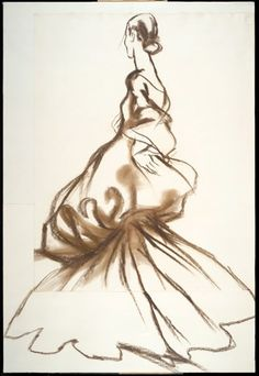 Antonio Lopez illustrations of Charles James's designs A perfectionist to the extreme, Charles James was capable of spending thousands of dollars developing the ideal sleeve or a staggering twelve years on a single frock.