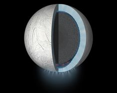 Inner Complexity of Saturns Moon Enceladus Revealed Hints at Habitable Conditions Saturns Moons, Organic Molecules, Scientific Articles, Serpentina, Ocean Current, Space And Astronomy, Environmental Science, Social Science, Planets