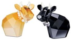 Swarovski Crystal Glamour Mos Cow Figurines * Be sure to check out this awesome product. (This is an affiliate link and I receive a commission for the sales)