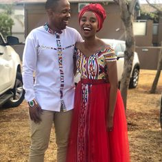 African Fashion Ankara, African Wear, African Women, African Outfits, African Traditional Wedding Dress, Traditional Dresses, Rebecca Minkoff, Disney Wedding Dresses, Matching Couples