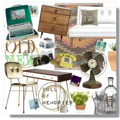 Memories by clovers-mind on Polyvore featuring interior, interiors, interior design, home, home decor, interior decorating, Jonathan Adler, Match, Linea and Waterford