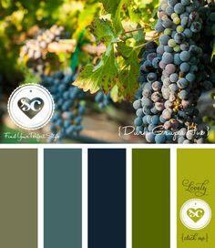 165 Dark Grapes Hue / Designer Asmalina © 2012 Sorbetcolour ™