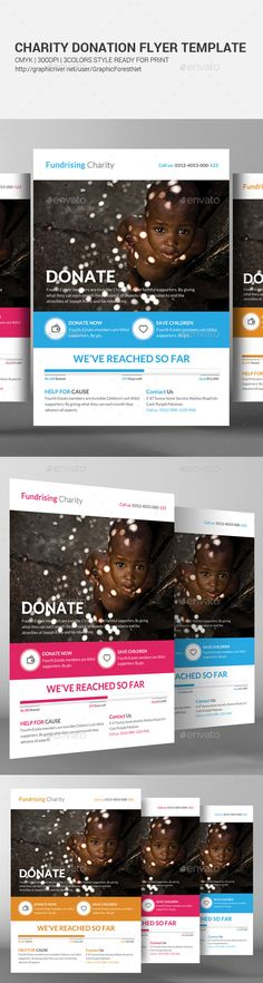 Donation Flyer Flyer template, Template and Business flyer templates
