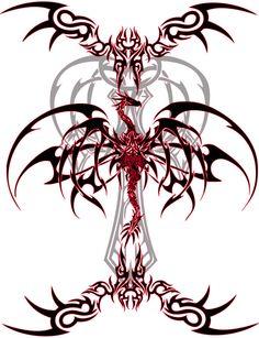 Dragon Tattoo Vinyl by ~VeXiiNo on deviantART