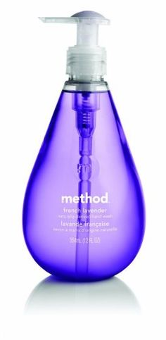Method Hand Wash, French Lavender, 12 oz bottles (Pack of 6) for only $20.60 You save: $9.40 (31%) + Free Shipping