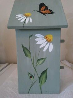Image result for birdhouse painting ideas