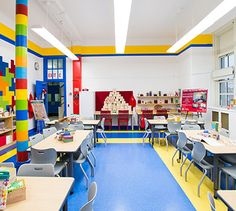 Design Hunting-A Staten Island school gets the Todd Oldham treatment.