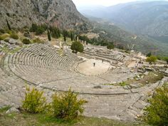 The Ruins of Ancient Delphi, UNESCO World Heritage Site, Greece