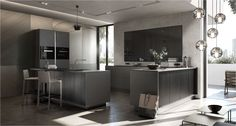 SieMatic new PURE Collection #dark #kitchen #SieMatic #new #pure #collection