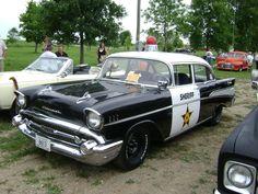 '57 Chevy Police Car