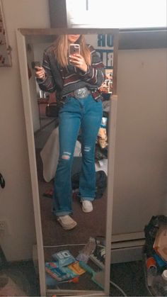 Cute Simple Outfits, Cute Lazy Outfits, Retro Outfits, Outfits For Teens, Cute Cowgirl Outfits, Western Outfits Women, Country Style Outfits, Southern Outfits, Freshman Outfits