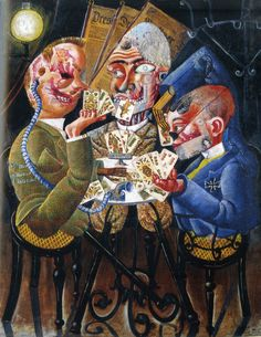 Dr Paul Ferdinand Schmidt, Otto Dix, oil on canvas (1921)