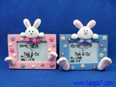 Polymer_Clay_Handmade_Crafts_Lovely_Photo_Frame.jpg (500×375)