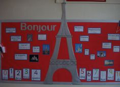 French classroom display items