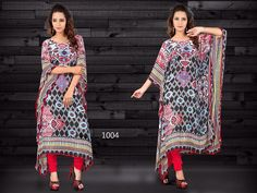 THE KAFTAN COLLECTION   Here we presents the very unique digital printed kaftan collection The elegant designs and georgette fabric will give you very neat and stylish look. So give it a try and stay fashionable.  Fabric - Smooth Georgette