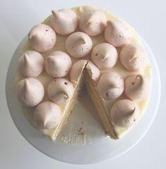 Lemon cake with lemon curd and caramel :-)