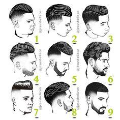 Corte de pelo que termine en v
