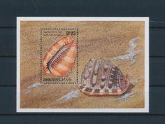 LE85493 Maldives  seashells sealife good sheet MNH